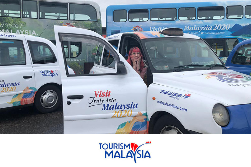 SUPPORTING TOURISM MALAYSIA AT THE WORLD TRAVEL MARKET IN LONDON