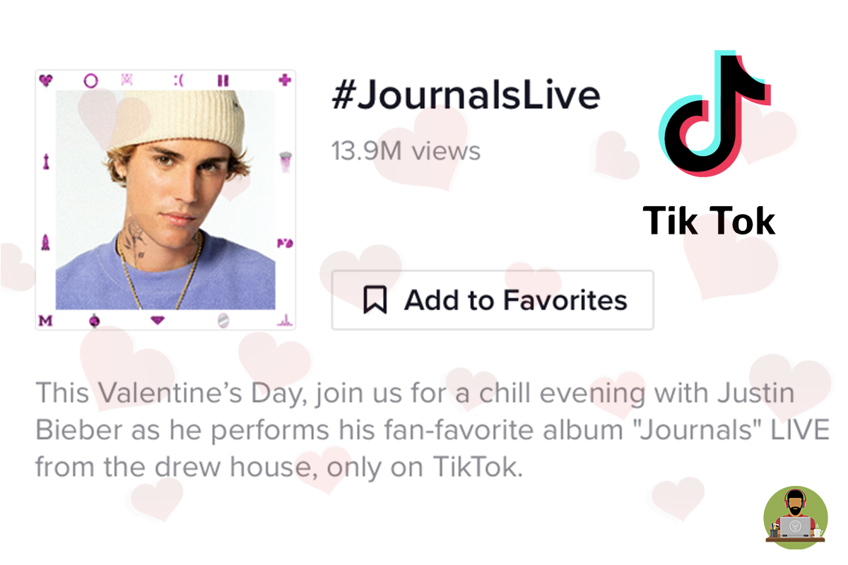 Justin Bieber's Live Valentine's Performance