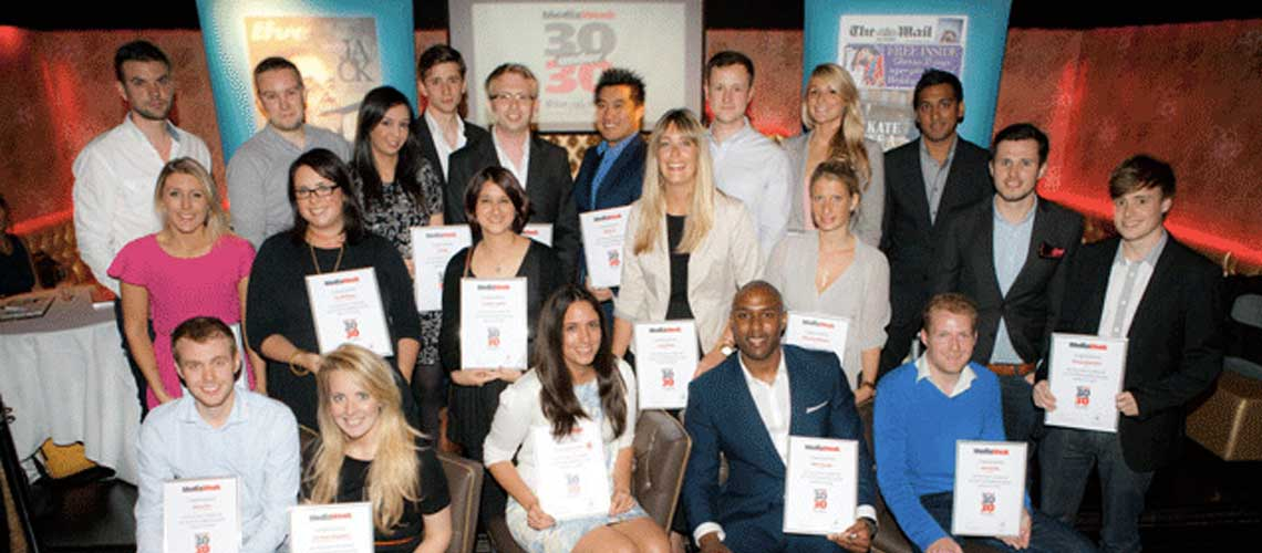 Young Talent Dominate's This Year's 30 Under 30 Award