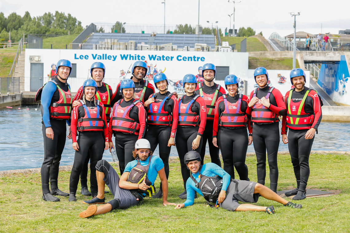 Team Day Out White Water Rafting