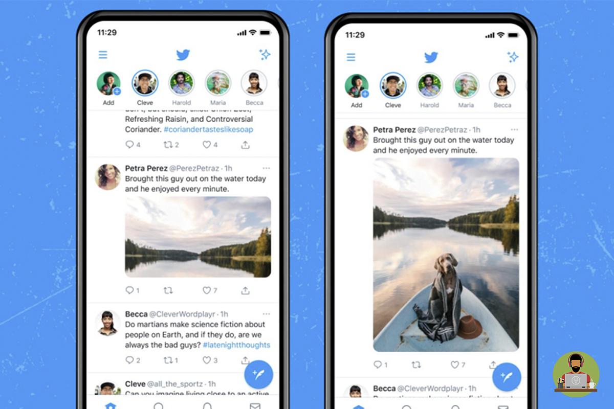 Tweets In 4K