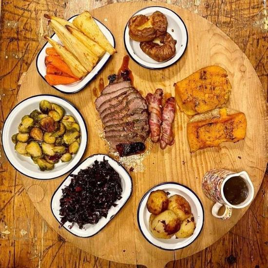 Roast In A Box menu