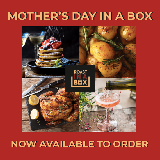 Mother's day in a box ad