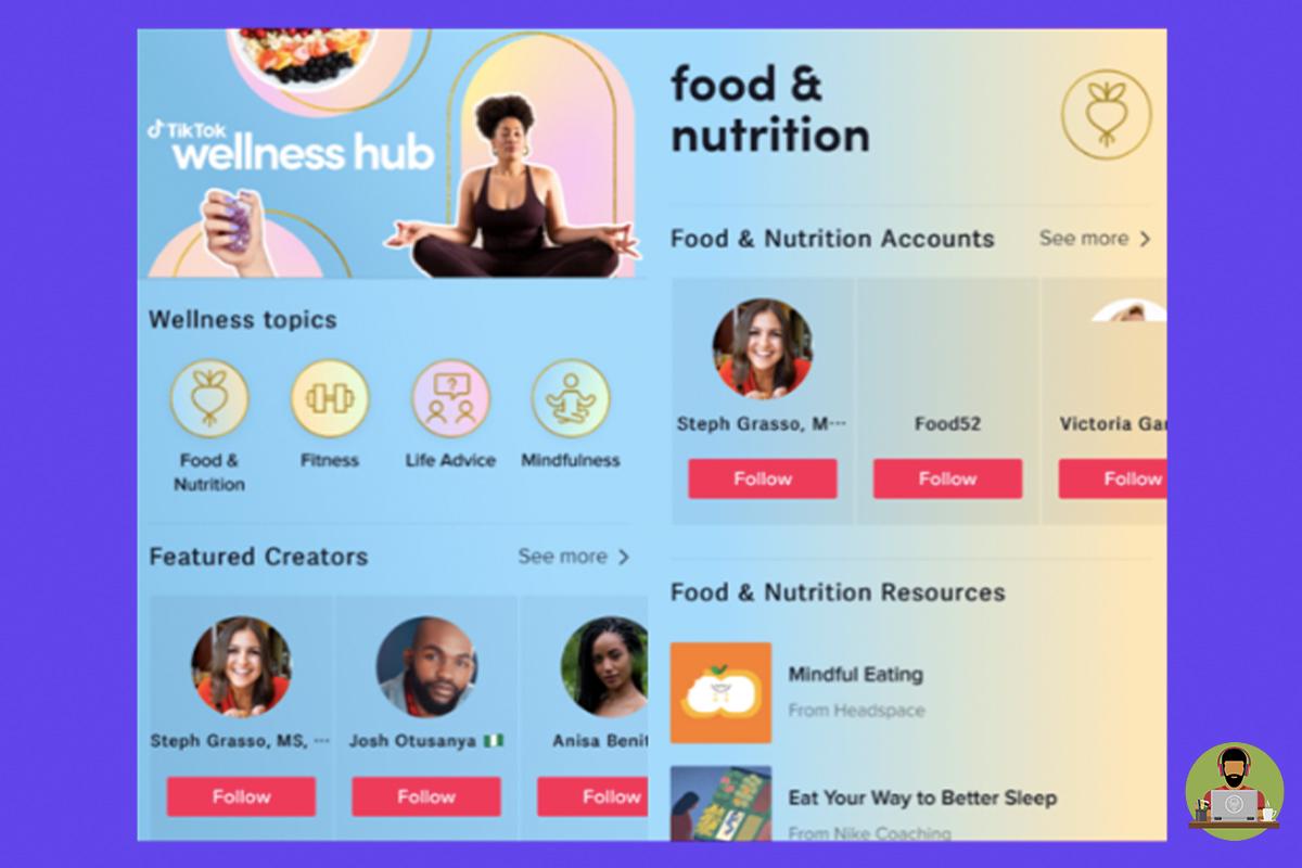 TikTok Introduces New Wellness Hub