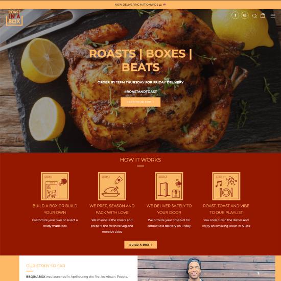 Roast in a box website