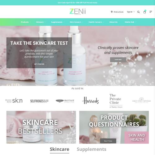 Zenii website
