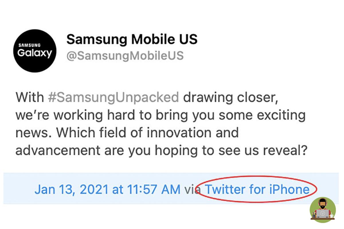 Wrong Phone, Samsung!