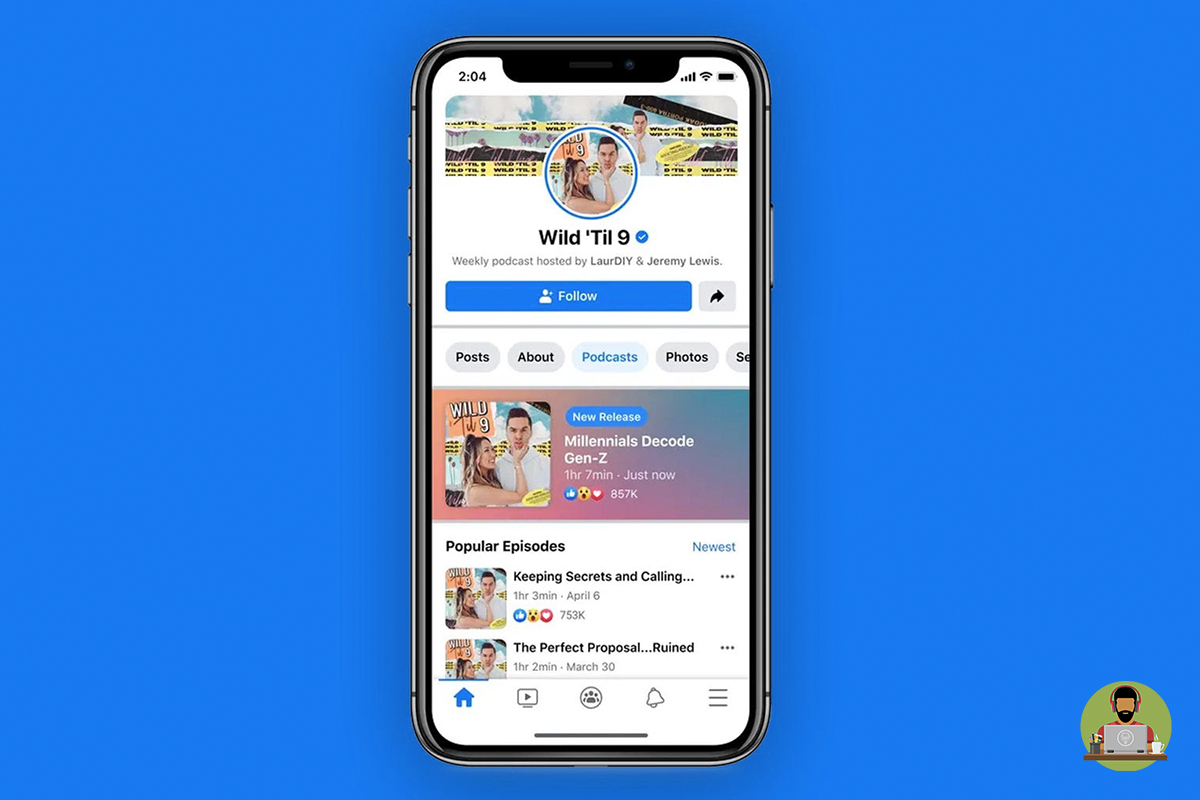 Facebook Gets Ready To Launch Podcasts