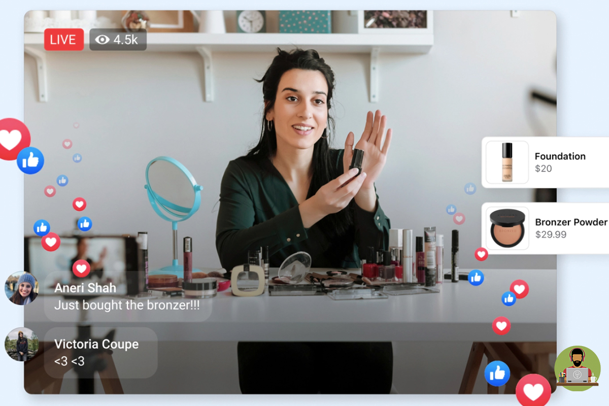 Facebook Launches 'Live Shopping Fridays'