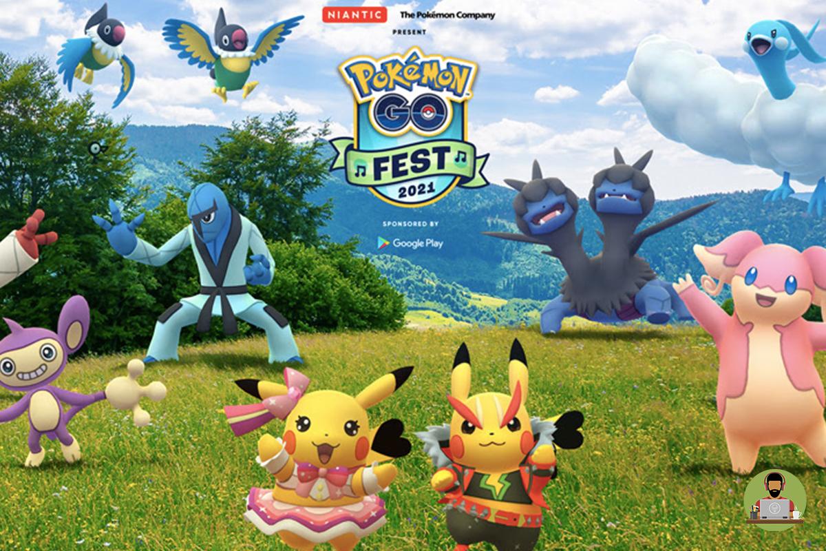 Pokémon Go Announces Virtual Summer Music Festival