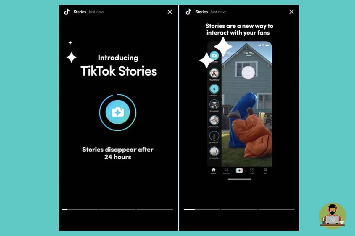 TikTok Tests Stories