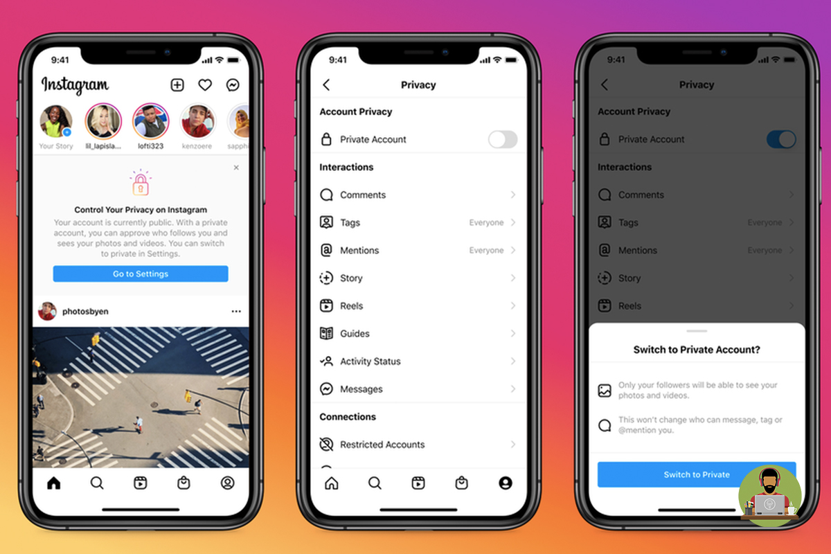 Instagram Adds Extra Security For Under 16's