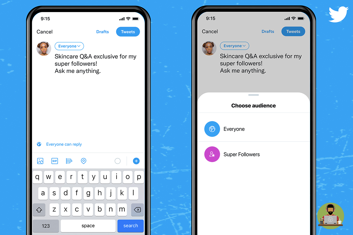 Twitter Introduces Super Follows